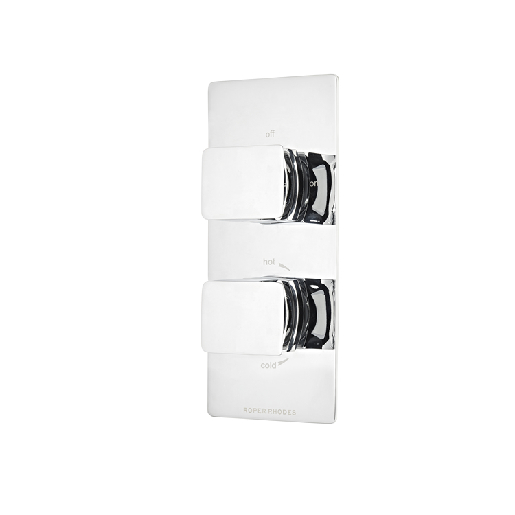 Photo of Roper Rhodes Elate Thermostatic Single Function Shower Valve