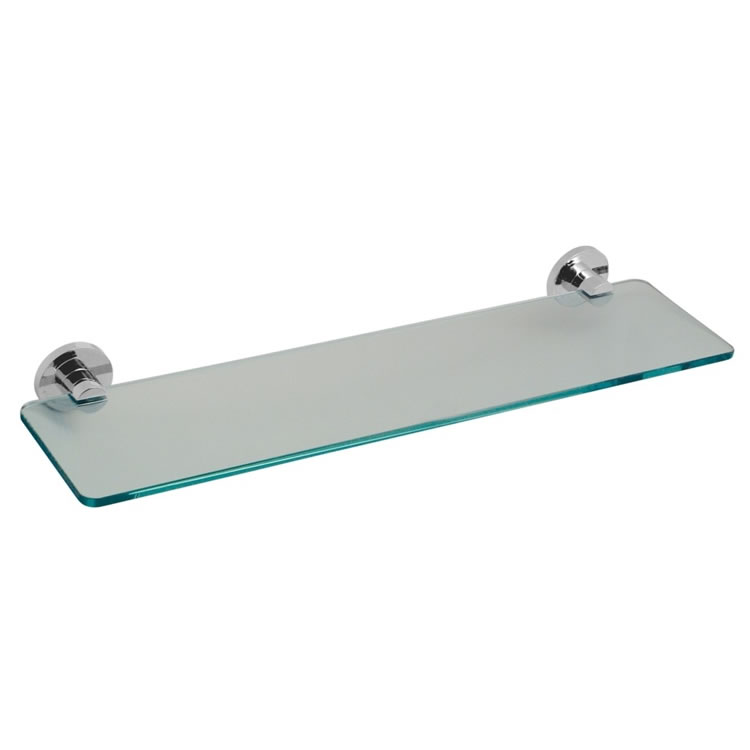 Vado Elements 558mm Frosted Glass Shelf Image 1