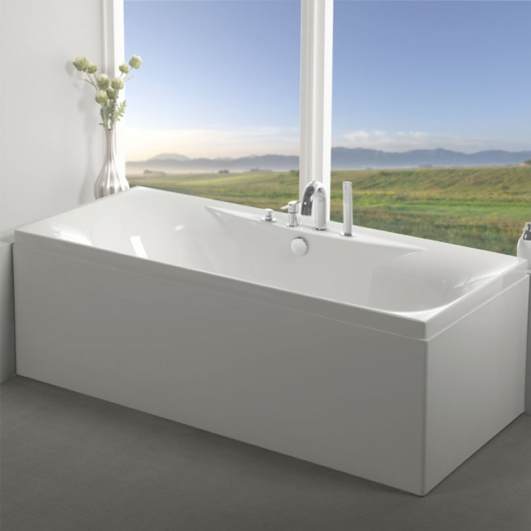 Carron Equity 1700 x 750mm Double Ended Bath Image 1
