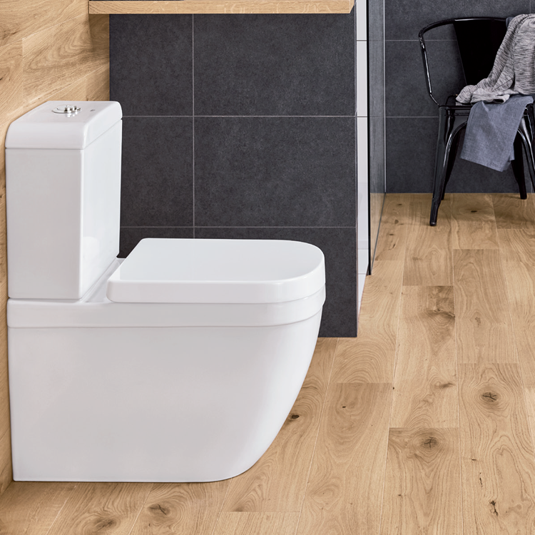 Grohe Euro Floorstanding WC w/Soft Close Seat & Cistern - Image 1