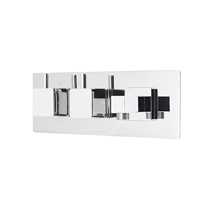 Photo of Roper Rhodes Event Square Dual Function Shower Valve with Outlet