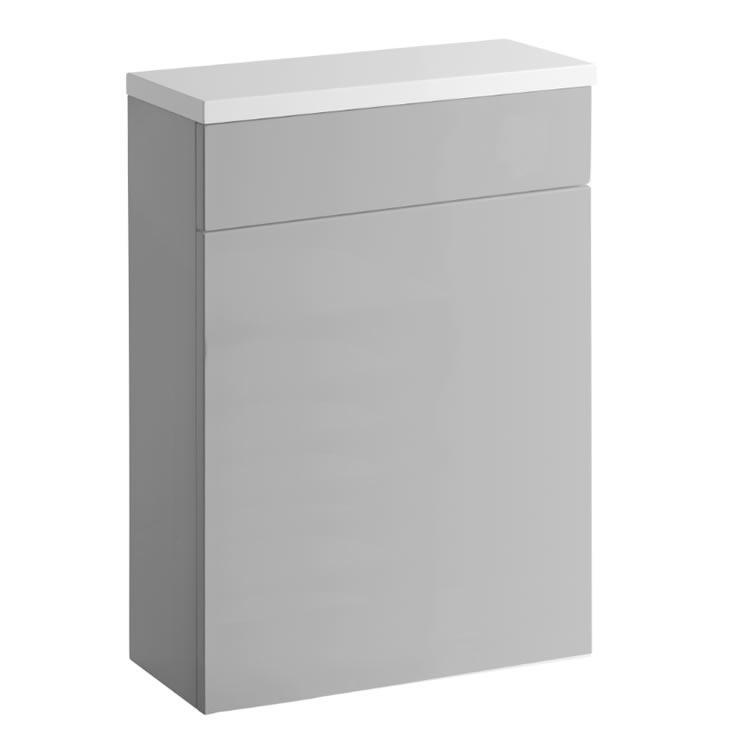 Roper Rhodes Gloss Light Grey Back To Wall WC Unit
