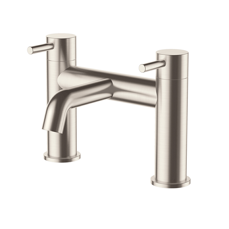 Photo of JTP Inox Brushed Stainless Steel Bath Filler Cutout
