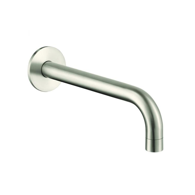 Photo of JTP Inox Brushed Stainless Steel Bath Spout Cutout