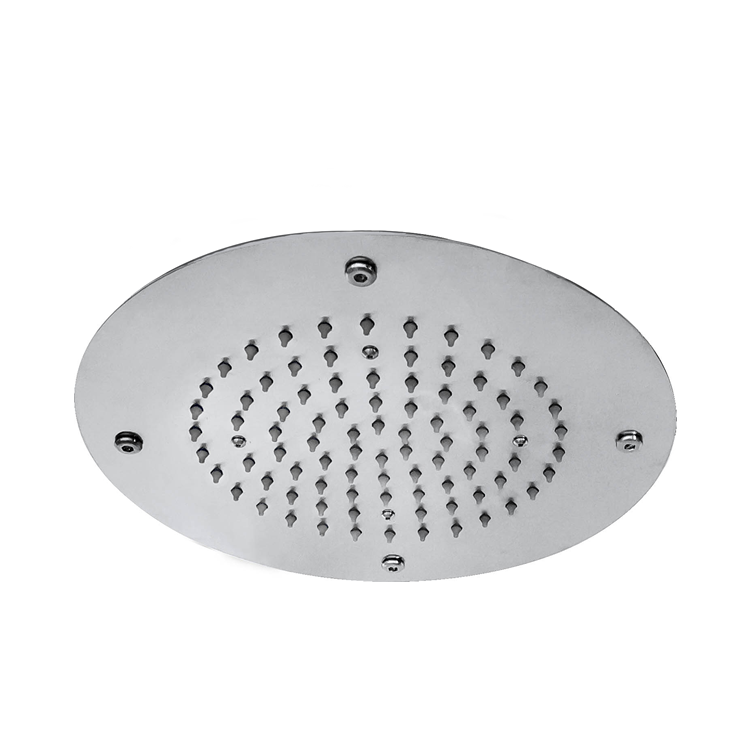 Photo of JTP Inox Brushed Stainless Steel 300mm Overhead Ceiling Shower Head Cutout