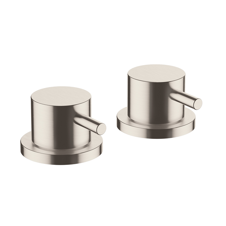Photo of Inox Brushed Stainless Steel Deck Panel Valves Cutout