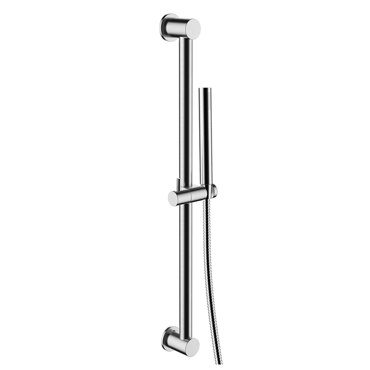 Photo of JTP Inox Brushed Stainless Steel Slide Rail Kit with Handset Cutout