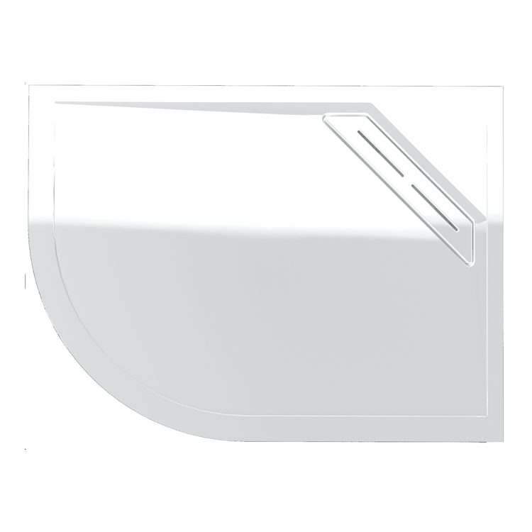Photo of Kudos Connect 2 1200 x 900mm Offset Quadrant Shower Tray - Right Hand