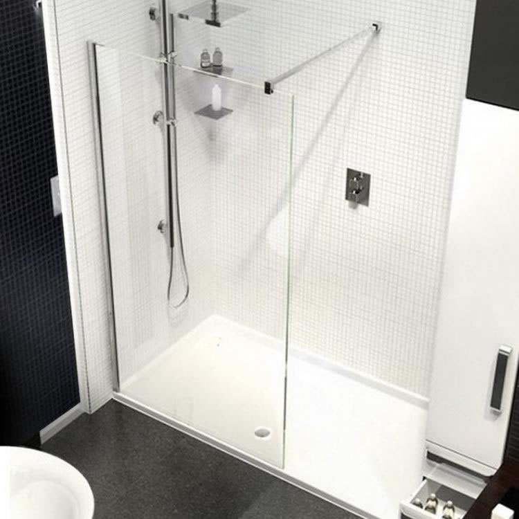 Kudos Ultimate2 1200mm Walk In Shower & Shower Tray - Image 1