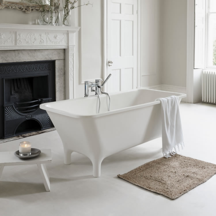 Clearwater Lonio 1700mm Natural Stone Freestanding Bath