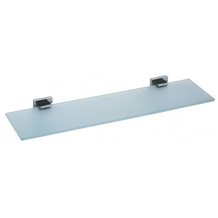 Vado Level 550mm Frosted Glass Shelf Image 1