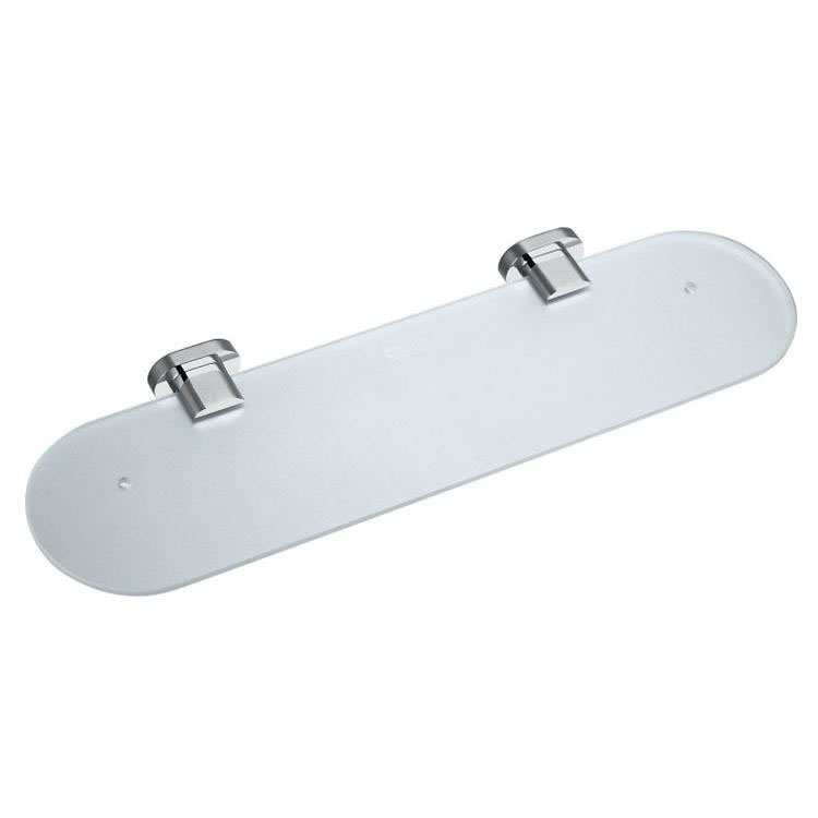 Vado Life 530mm Frosted Glass Shelf Image 1