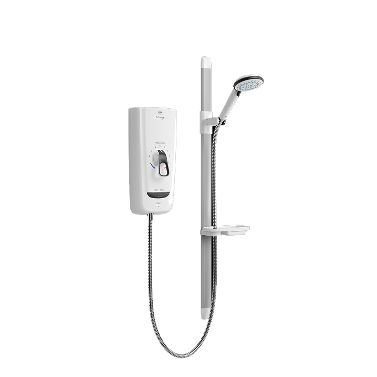 Photo of Mira Advance Flex Low Pressure 9.8kW Thermostatic Electric Shower Cutout