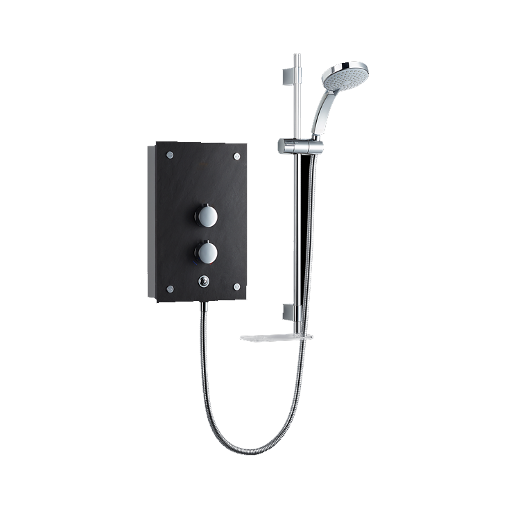 Photo of Mira Galena Slate Thermostatic Electric Shower Cutout