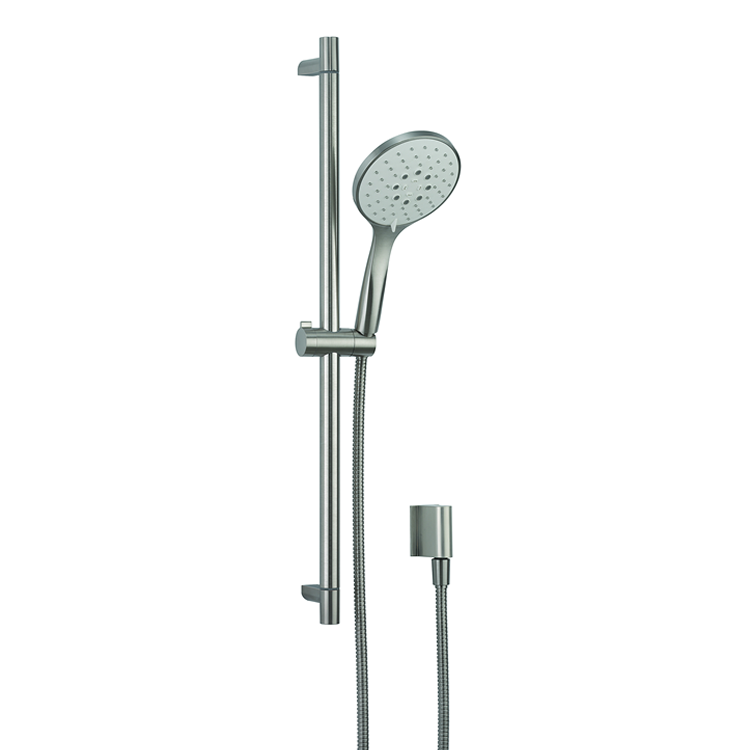 Photo of Crosswater MPRO Brushed Stainless Steel Shower Kit