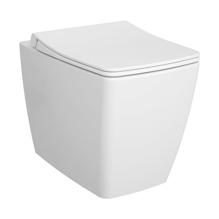 Photo of Vitra Designer M-Line Rimless Back To Wall WC & Seat Cutout
