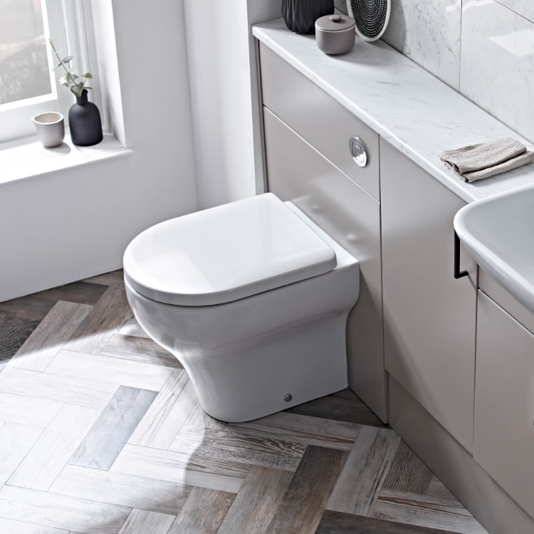 Roper Rhodes Note Back To Wall WC and Soft Close Seat