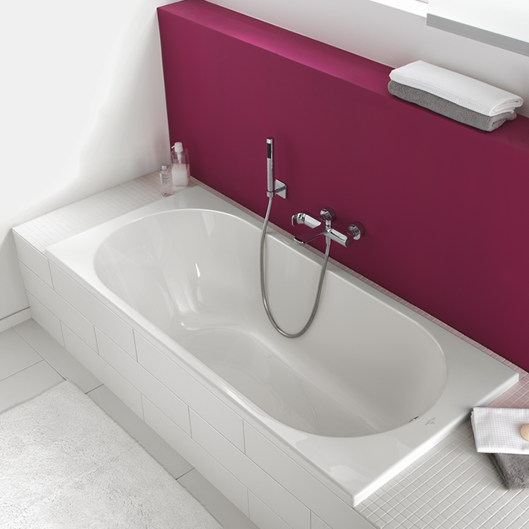 Photo of Villeroy and Boch O.Novo Solo 1700 x 700mm Single Ended Bath Lifestyle Image