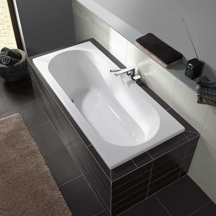Lifestyle Photo of Villeroy and Boch O.Novo Duo 1800 x 800mm Double Ended Bath