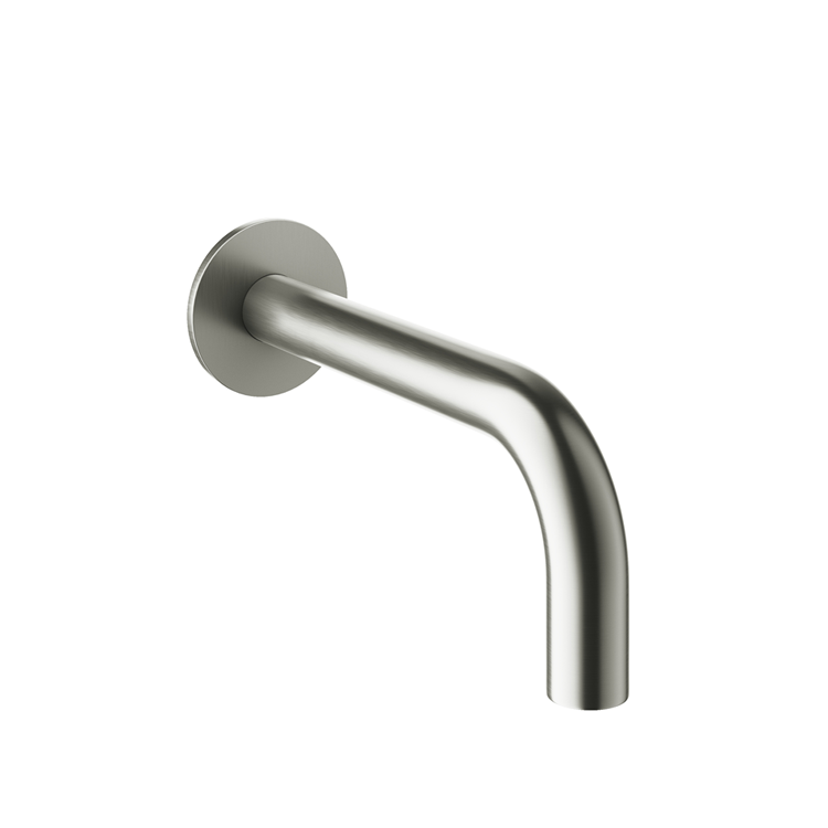 Photo of Crosswater MPRO Brushed Stainless Steel Bath Spout