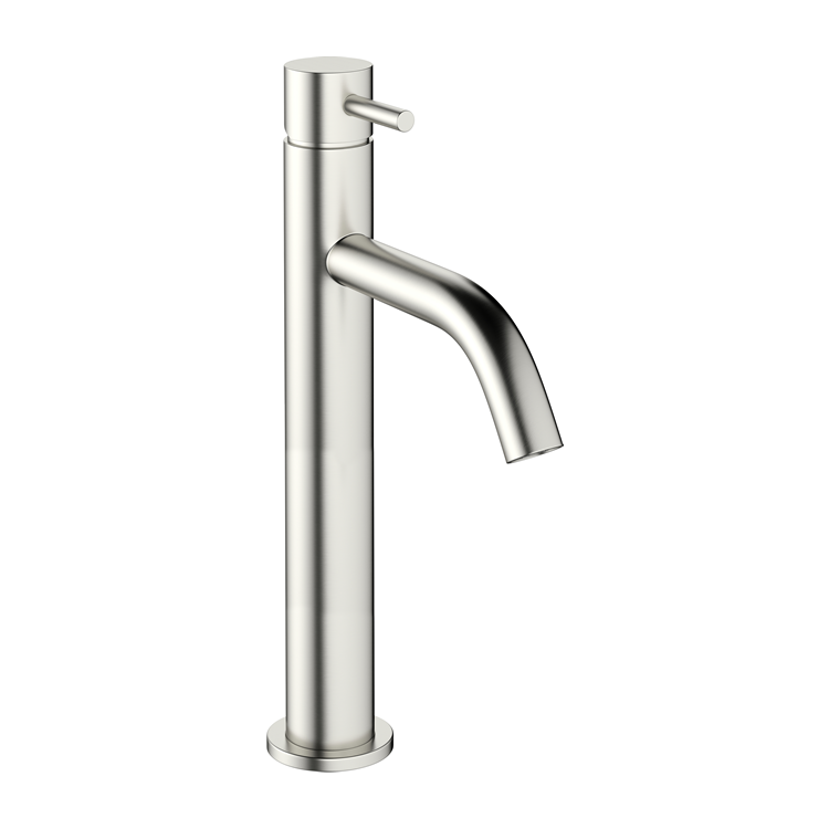 Photo of Crosswater MPRO Brushed Stainless Steel Tall Basin Mixer
