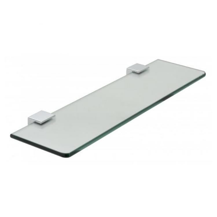 Vado Phase 450mm Frosted Glass Shelf Image 1