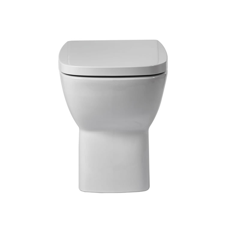 Frontline Piccolo Back to Wall WC with Soft Close Seat - Image 1