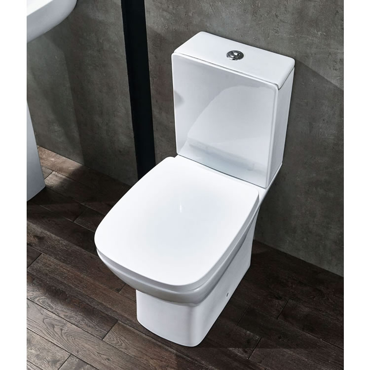 Frontline Piccolo Close Coupled WC with Soft Close Seat - Image 1