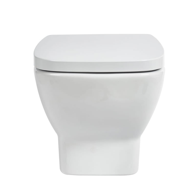 Frontline Piccolo Wall Hung WC with Soft Close Seat - Image 1