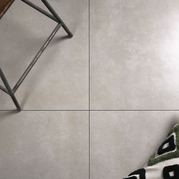 Photo of the Ca' Pietra Harlow Porcelain Satin Tile in Gris