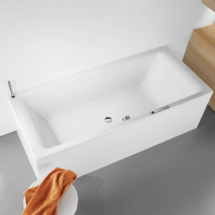 Kaldewei PuroDuo 1800mm x 800mm Double Ended Bath - Image 1