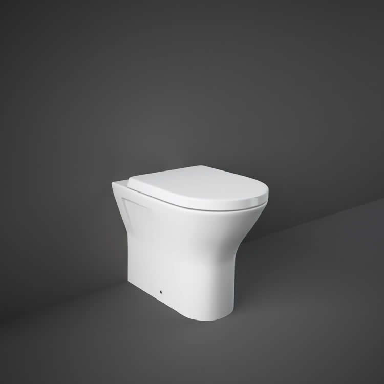 Rak Resort Back to Wall WC with Soft Close Seat - Image 1