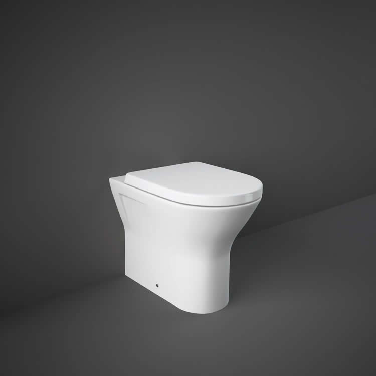 Rak Resort CompactBack to Wall WC with Soft Close Seat - Image 1
