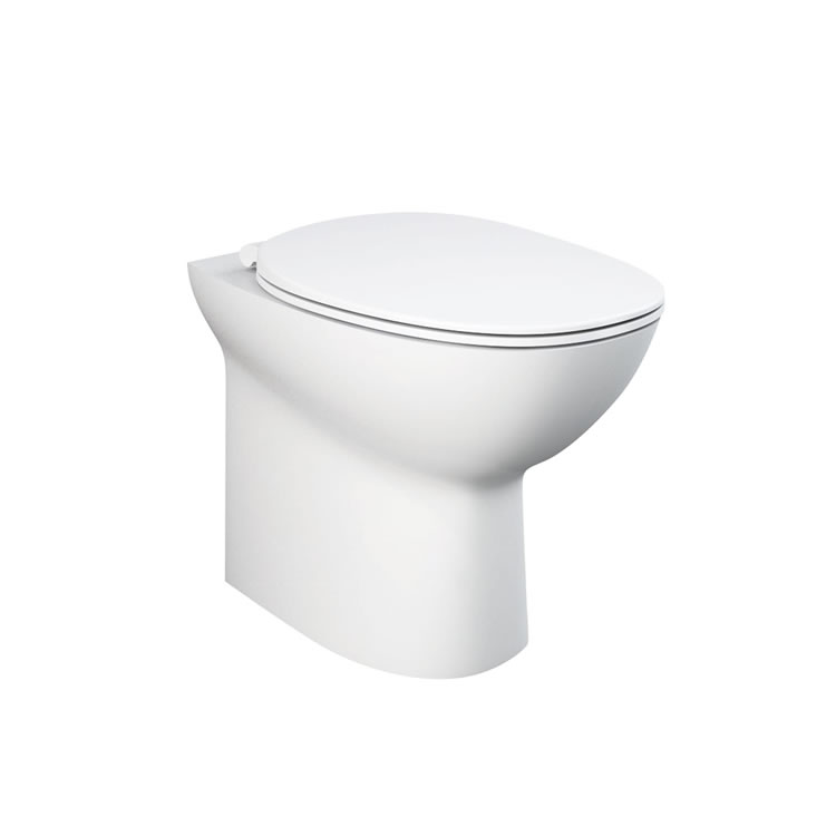 Rak Morning Back to Wall WC with Soft Close Seat - Image 1