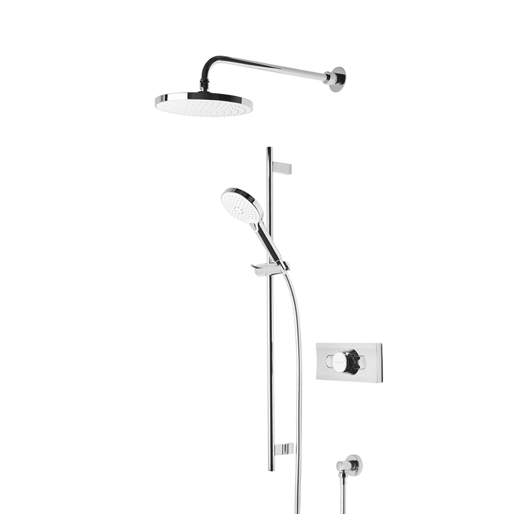 Photo of Roper Rhodes Event-Click Chrome and White Shower System