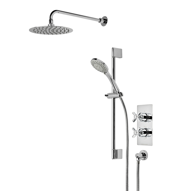 Photo of Roper Rhodes Wessex Dual Function Shower with Fixed Head & Riser Rail