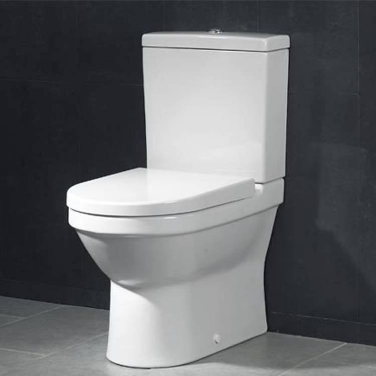 Vitra S50 Compact Close Coupled WC Pan (Closed Back)