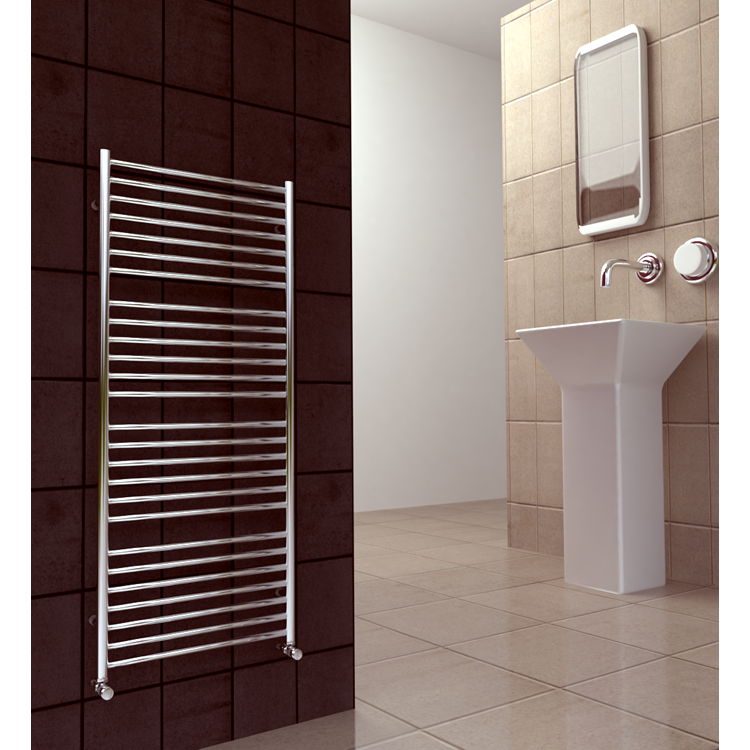 Lifestyle photo of SBH Maxi Plus 1400 x 600mm Electric Stainless Steel Radiator