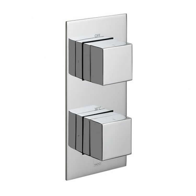 Vado Notion Single Outlet Two Control Thermostatic Shower Valve Image 1