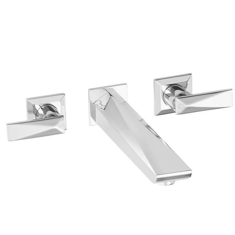 Heritage Hemsby Wall Mounted Bath Filler Chrome Finish Image