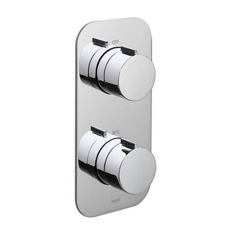Vado Altitude Twin Outlet Thermostatic Shower Valve Image 1