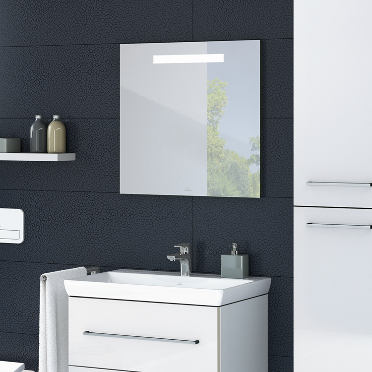 Lifestyle Photo of Villeroy and Boch More to See One 500mm LED Mirror
