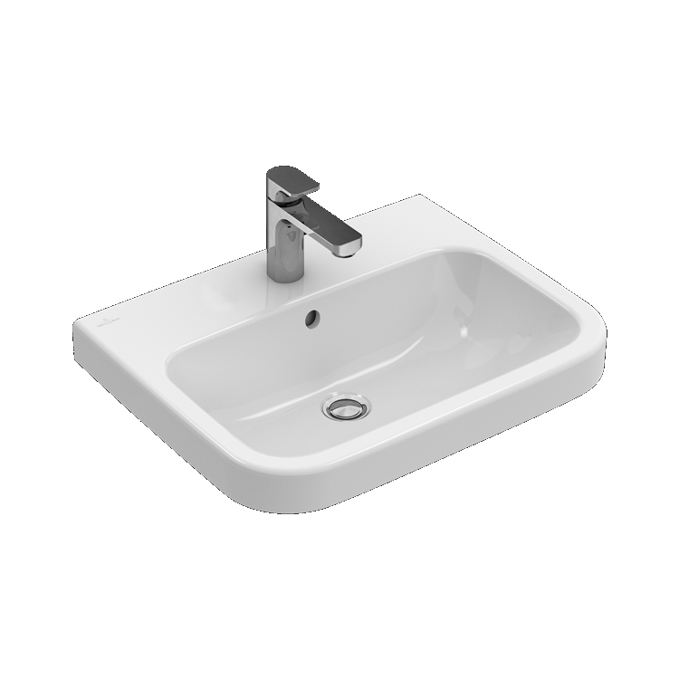 Photo of Villeroy And Boch Architectura 600mm Basin & Pedestal