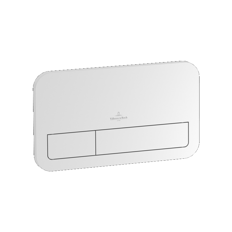 Photo of Villeroy and Boch Viconnect E200 White Dual Flush Plate Cutout