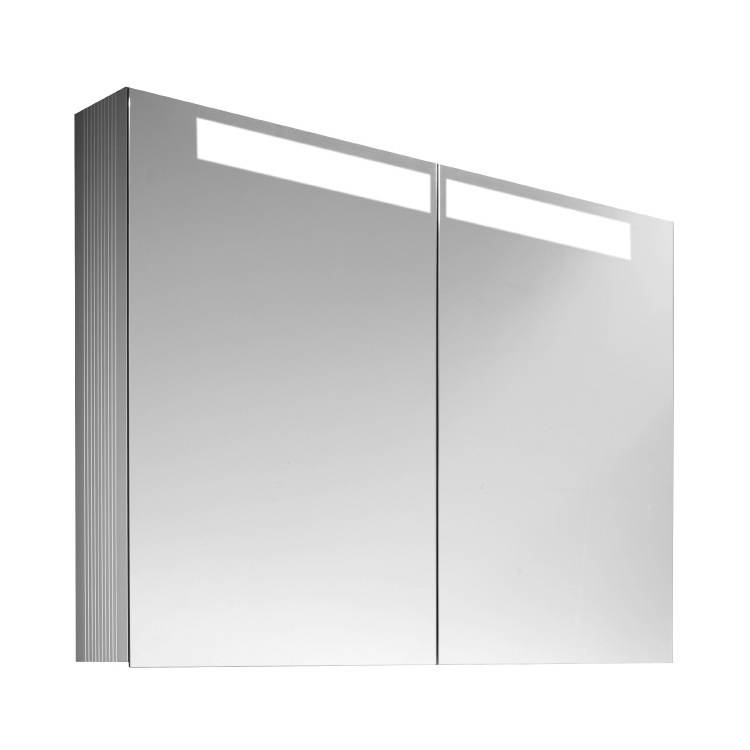 Photo of Villeroy and Boch Reflection 1000mm LED Double Mirror Cabinet Cutout