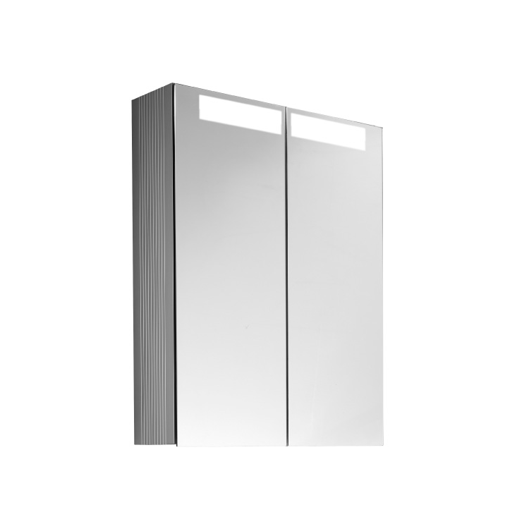 Photo of Villeroy and Boch Reflection 600mm LED Double Mirror Cabinet Cutout