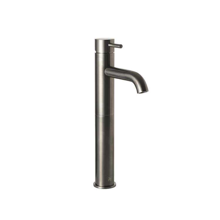 Photo of JTP Vos Brushed Black Single Lever Tall Basin Mixer