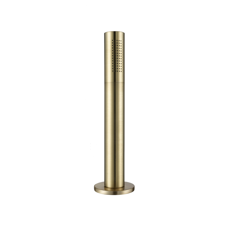Photo of JTP Vos Brushed Brass Pullout Shower Handset Cutout
