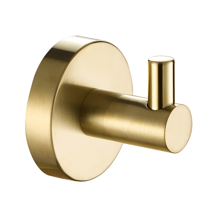 Photo of JTP Vos Brushed Brass Robe Hook Cutout