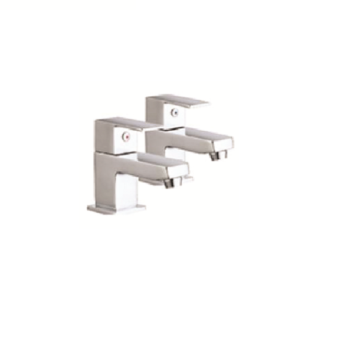 The White Space Forte Bath Pillar Taps product image WSTF03